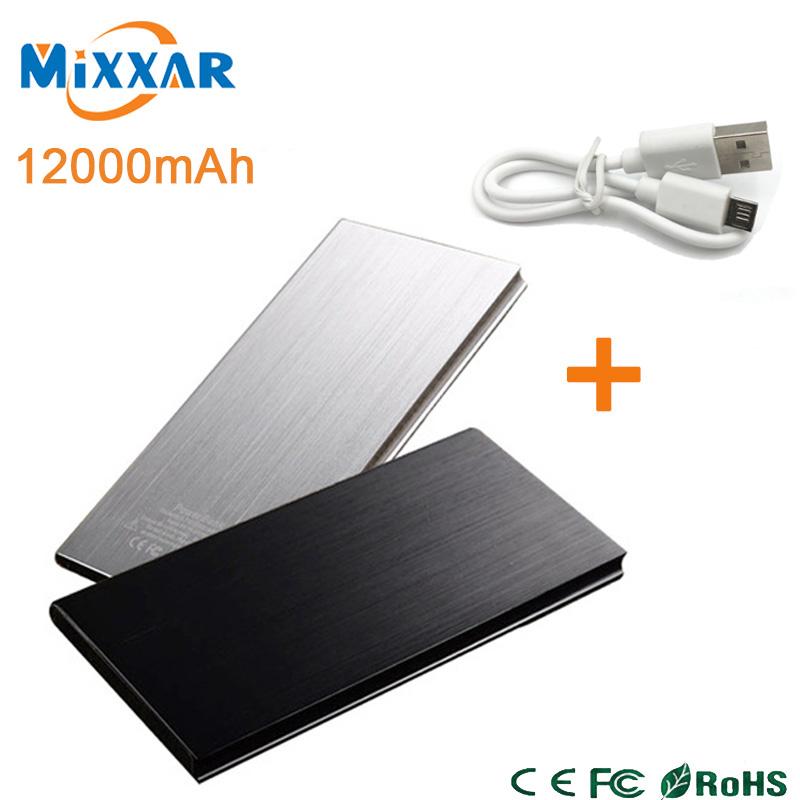 zk90 New Arrival 12000mAh Dual USB Powerbank Cargador Portatil Portable Power Bank External Battery Pack Charger(China (Mainland))