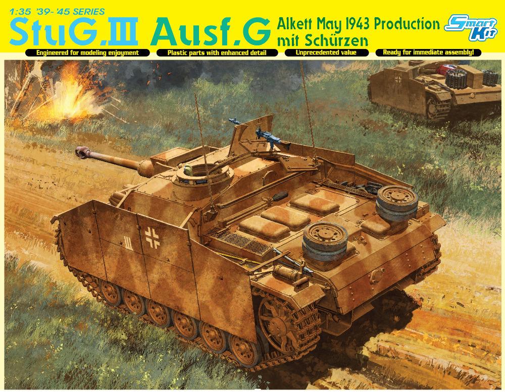 Dragon model 6578 1 35 scale StuG III Ausf G May 1943 Production mit Schurzen