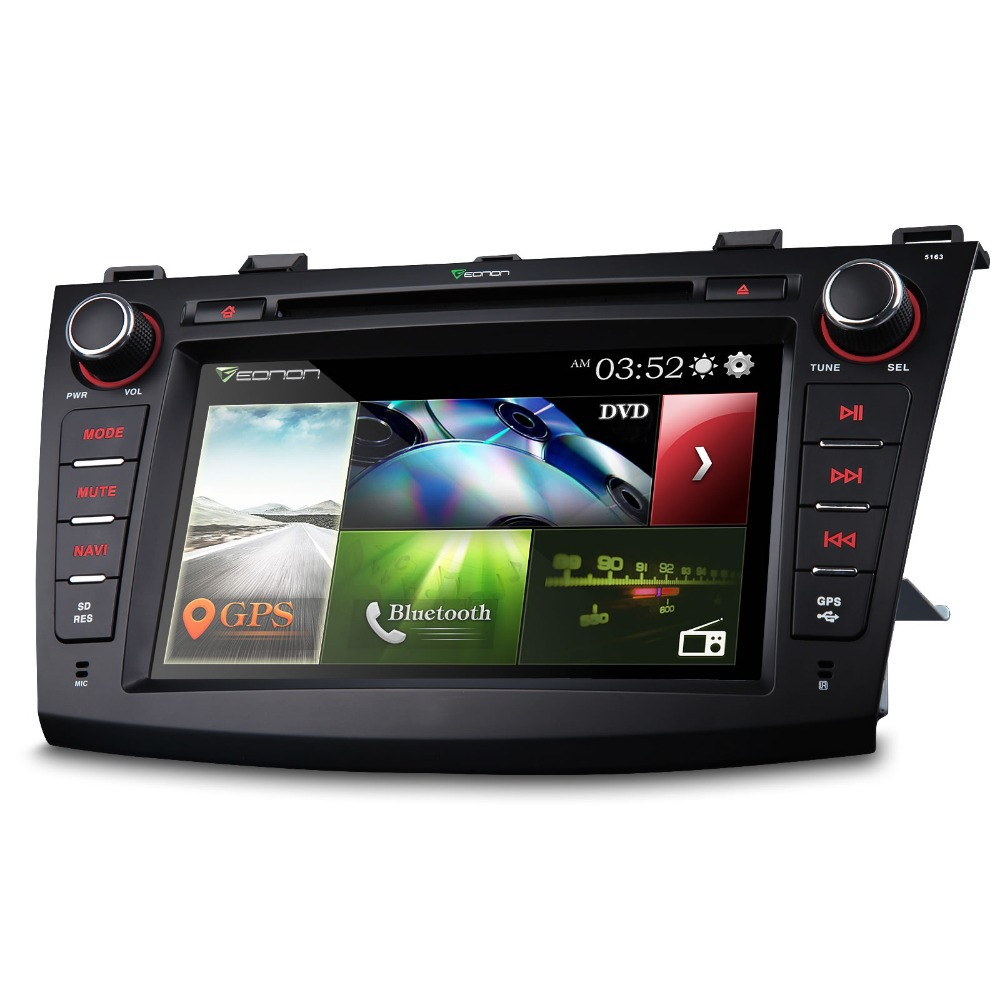 """8"""" Touch Screen Special Car DVD for Mazda 3 2010/2011/2012/2013 with Dual CanBus System & 7 Selecteable LED Button Colors(China (Mainland))"""