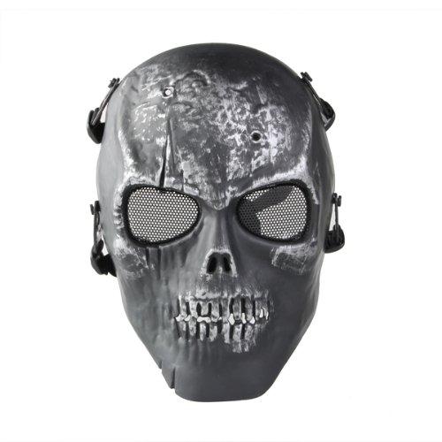 SAF Hot Battlefield Heroes Black Skull Iron Man mask Skeleton Army fans field