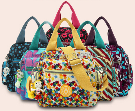 2015 water wash cotton prints one shoulder shopping bag fashion elegant women's handbag(China (Mainland))