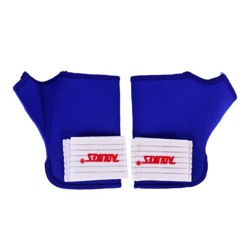 2 x Elastic Thumb Wrap Wrist Palm Splint Supports Sport Gloves Elastic Brace Gym(China (Mainland))