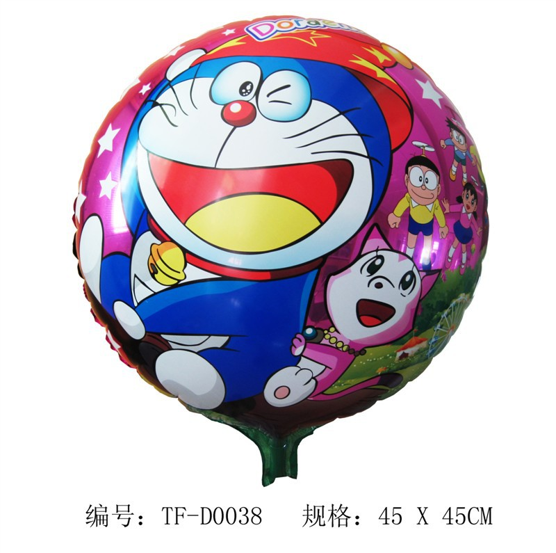 Free Shipping Doraemon pet balloon ,10pcs Walking animal balloons,18inch walking pet balloons(China (Mainland))