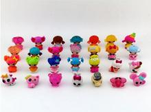 10pcs/set mini Lalaloopsy dolls, kid child birthday gift, play house toys, action collection figure girls brinquedos