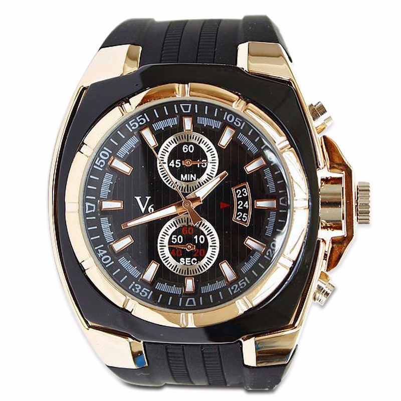 Curren Luxury Brand Stainless Steel silicone Strap Analog Date Men's Quartz Watch Casual Men Wristwatch relogio masculino - National treasure shop store