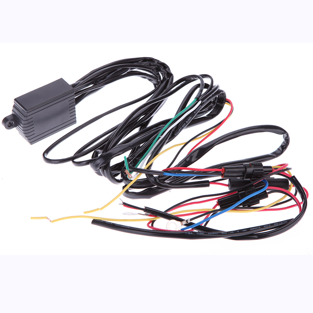Universal Auto Car Led DRL Daytime Running Light Relay Harness Controller Switch 12V Lamp Bulb - Glory co., LTD store