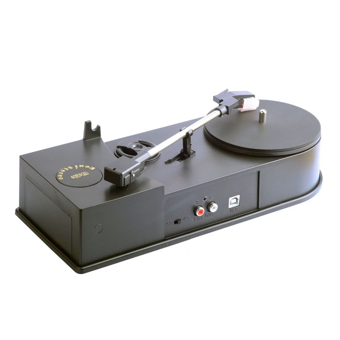 New retro ec008b usb portable mini phonograph turntable vinyl audio player su - Lecteur vinyle retro ...