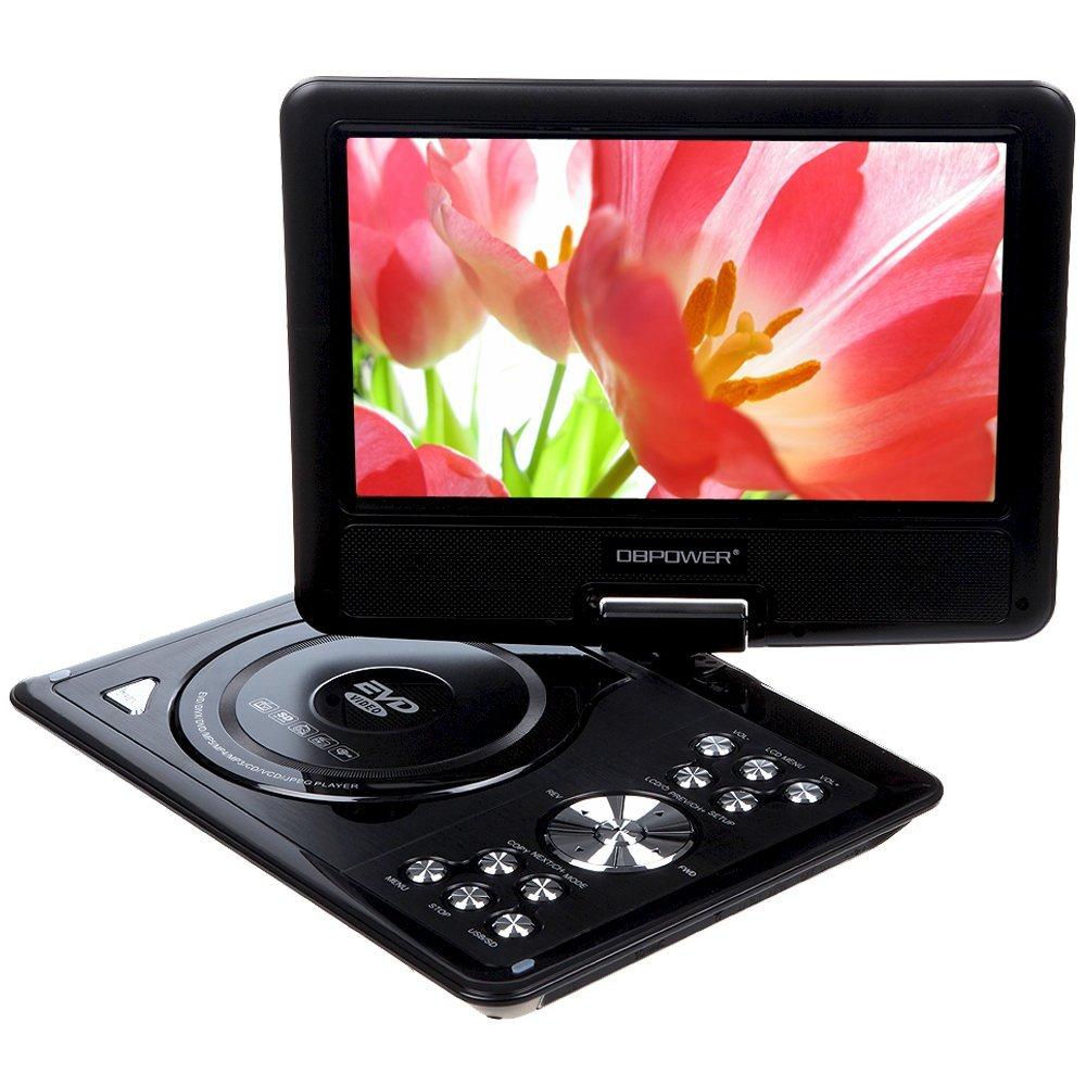 "DBPOWER 9.5"" Portable DVD Player Portatil dvd car headrest with Swivel Screen Supports SD Card USB Direct Play MP4/AVI/RMVB/MP3(China (Mainland))"