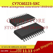 Electronic Parts CY7C60223-SXC IC MCU 8K WIRELESS 24-SOIC 7C60223 CY7C60223 - Chips Store store