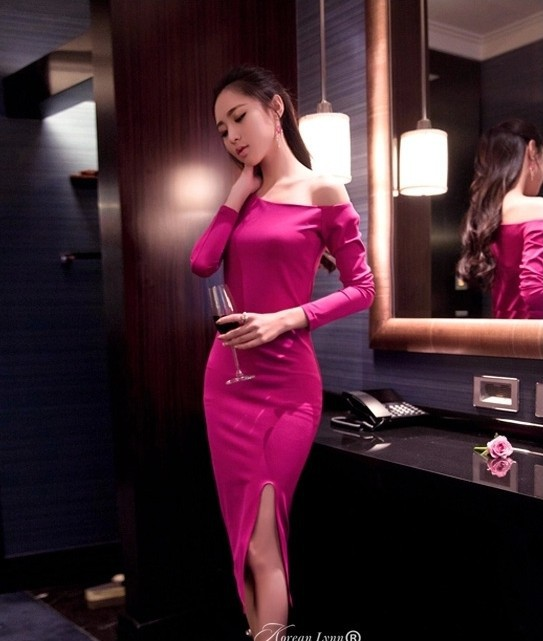 hotsale 2015 new sexy club dresses pink short prom dress for girls short club party dresses nice and fashion(China (Mainland))