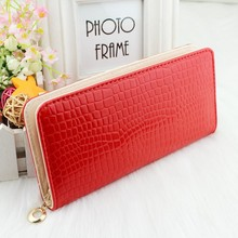 Women Clutch 2014 Fashion PU Leather Wallets Female Long Wallet Stone Grain Coin Purses Mobile Phone Bags Lady Card & ID Holders(China (Mainland))