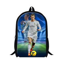 Fashion Children Boys Football 3D Printed School Bag For Fans Sport Mens Casual Shoulder Backpack Kids Book Bag Mochila infantil