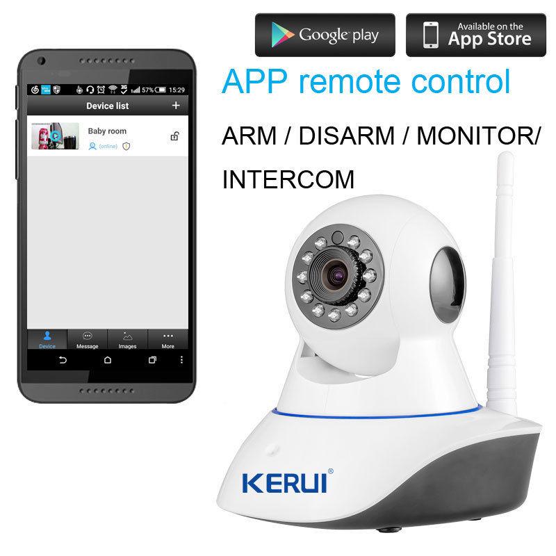 KERUI Wireless IR CCTV IP Camera/Alarm – 32G SD card