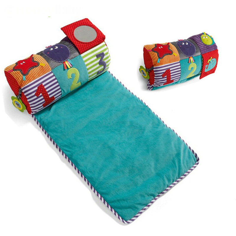 Cotton And Soft Baby Play Mats Game Blanket Baby Pillow Baby Toy And Baby Folding Crawling Blanket -- BYC031 PT49