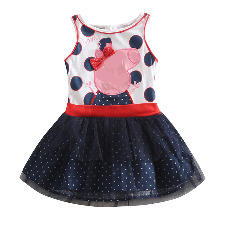 girl dress kids baby girls clothes summer style nova brand party princess dresses children clothing