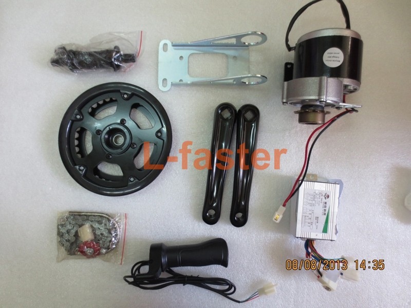 36v 350w Electric Bicycle Mid Drive Motor Kit High Speed