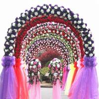 Wedding Decortion1.45m Width Sheer Mirror Organza Fabric Snow Crystal Shining Organza for Wedding Party 18 Colors 10m/lot