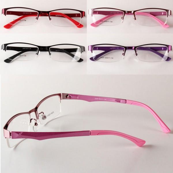 Ladies Eyeglass Frames 2016 : 2016 Women Eyewear Half Rim Eyeglasses Frame Optical ...