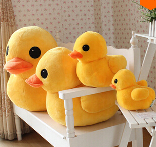 50cm l Stuffed Dolls Rubber Duck Hongkong Big Yellow Duck Plush Toys Hot Sale Best Gift(China (Mainland))