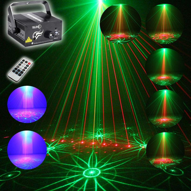 New Arrival 3 Lens 40 Patterns RG Laser BLUE LED Stage Lighting DJ show Light Party Bar Light Free Shipping<br><br>Aliexpress
