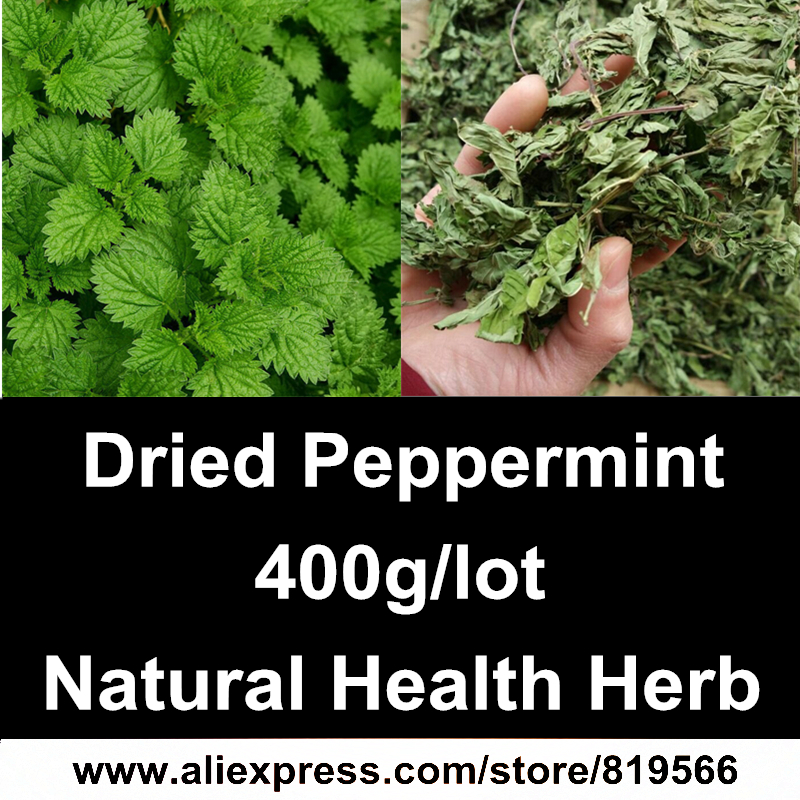 Dried Peppermint Leaf 400g Natural Health Care Herbal Mint Leaf Menthol Herb Tea Spearmint