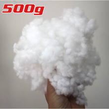 HIGH QUALITY Polyester Fiberfill Stuffing/Filling Toys Quilts Pillow&More,  500g/pack(China (Mainland))