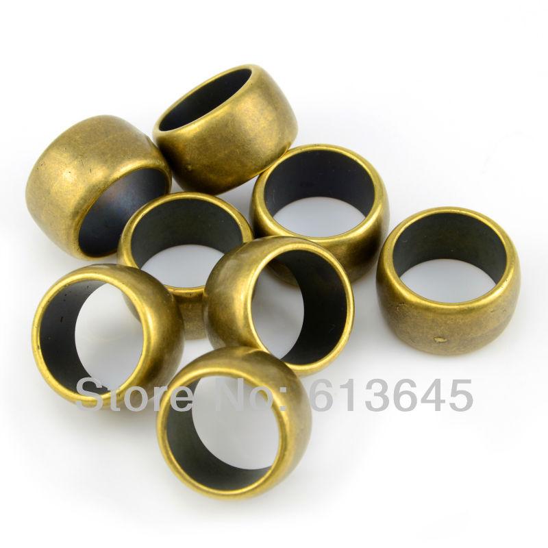 100PCS/LOT, Top Fashion DIY Jewelry Necklace Scarf Pendant Antique Bronze Plastic CCB Charm Circle Rings, Free Shipping, AC0124B(China (Mainland))