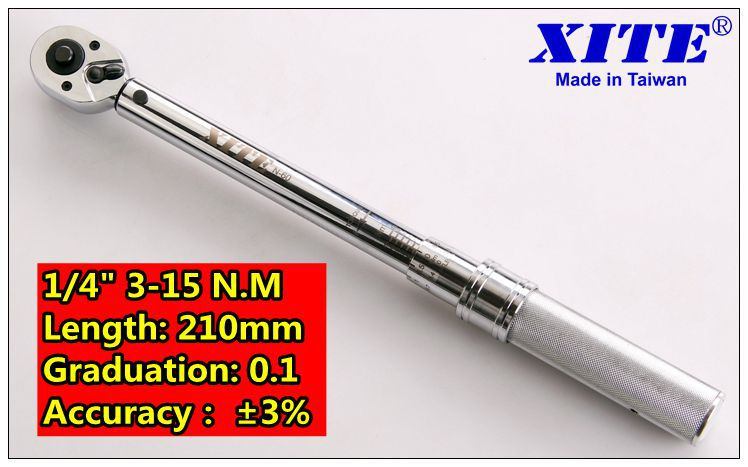 Precision torque wrench 3-15n.m