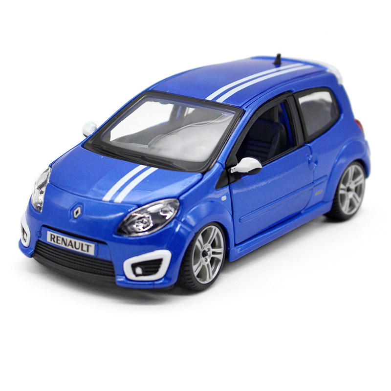 Bburago Diecast Model Car Renault  Twingo RS Blue1:24 Alloy Car Model Toy Vehicle Model Cars Alloy Model Toys Gift Kids Car Toys<br><br>Aliexpress