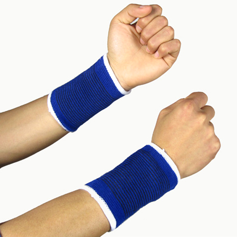 Crossfit Exercise Sports Basketball Wrist Band Support Brace Wraps Strap Safety Guard Protector Wristband Bandage Sweatbands(China (Mainland))