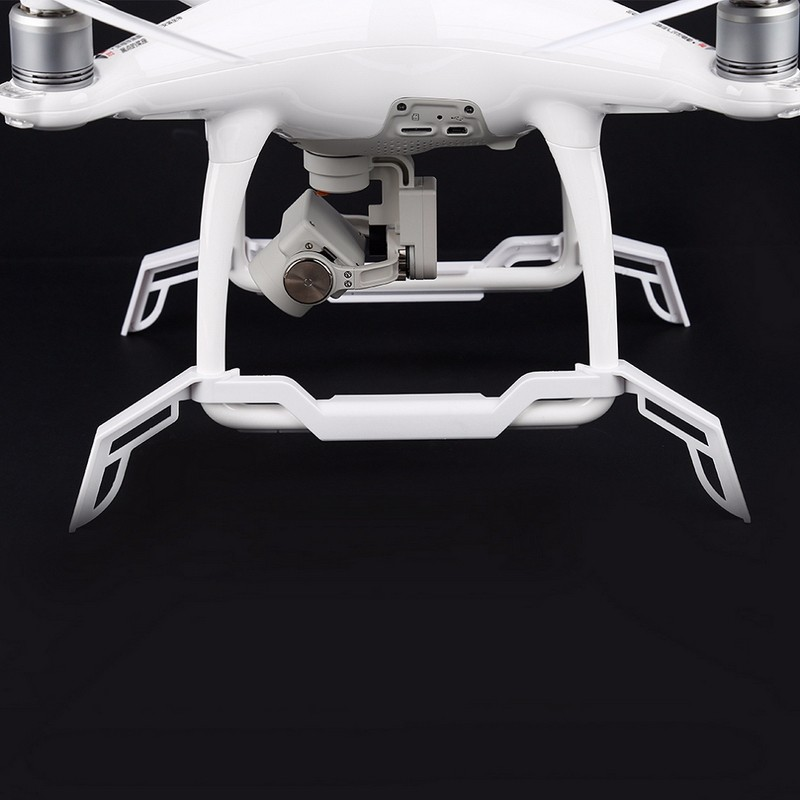 1 pair White Landing Gears Protection for DJI Phantom 4 RC Quadcopter