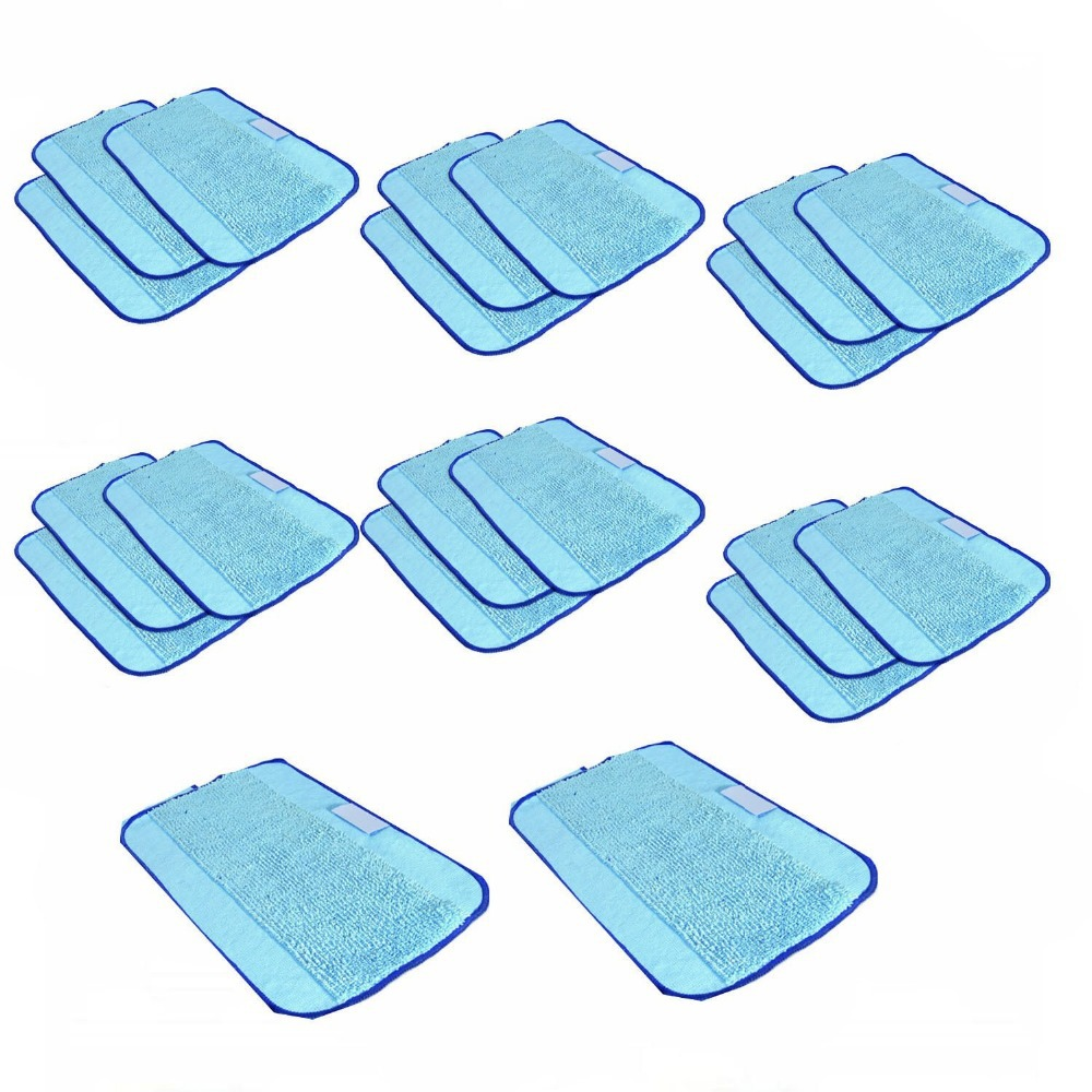 20 pcs/Lot Microfiber Mopping Cloths Cleaning Cloth for Mint 5200 5200C 4200 4205 irobot Braava 380 380t 320(China (Mainland))
