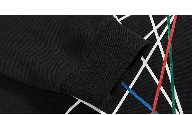 Pioneer Camp hip hop streetwear male hood brand clothing men printed hoodies male printed hoodies 3D cool sweatshirts 622166