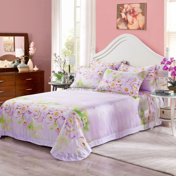 Wholesale Luxury Soft Bedding Sets King Queen Size Tencel