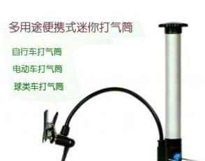 HZY11202Bicycle pump Ball pump electric car portable multi-purpose high-pressure pump(China (Mainland))