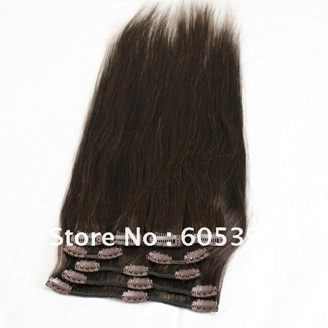 Indian Remy Clip On Hair Extensions 63