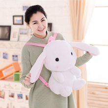 Buy Huge Size Super Cute Japanese Anime LOLITA Girls Plush Backpacks, Lop Rabbit Bunny Kids Toy Backpack& Children Cartoon Bag Toy for $19.81 in AliExpress store