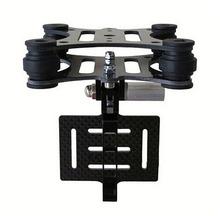 Free DHL Black FPV Gimbal Part Carbon Fiber Shock Absorber Gimbal PTZ for DJI Phantom Quadcopter Airplane Gopro Hero 3