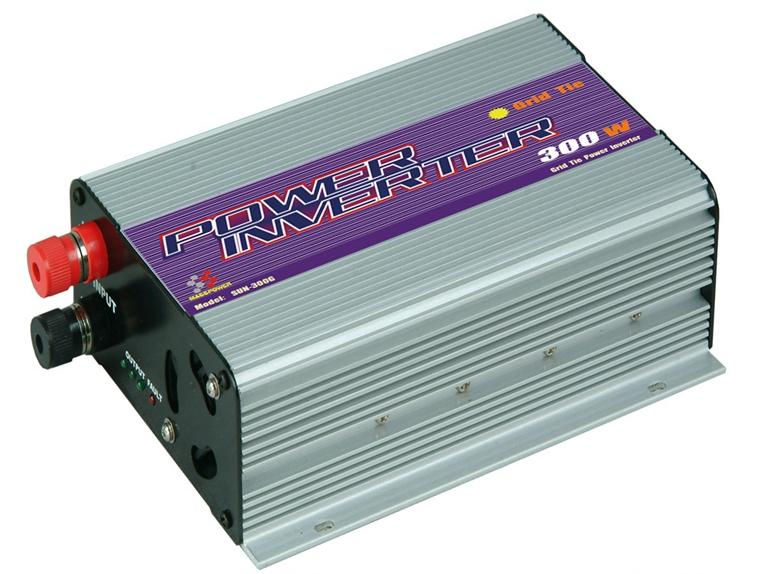MPPT Function 300W Mini Grid Tie Inverter 220V Pure Sine Wave Adjustable 10.8V to 30V and 22V to 60V Input Solar Power Inverter(China (Mainland))