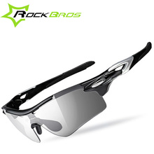Buy ROCKBROS Polarized Photochromic Cycling Glasses Bike Glasses Outdoor Sports Bicycle Sunglasses Goggles Eyewear Myopia Frame for $16.50 in AliExpress store