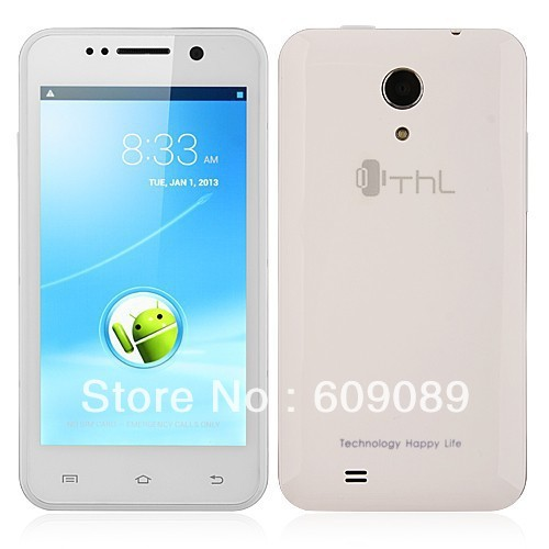 Original THL W100s W100 MTK65892M 1.3GHz Android 4.2 8MP Dual cameras WCDMA 3G Smart phone 4.5 Inch Quad Core Andriod phones