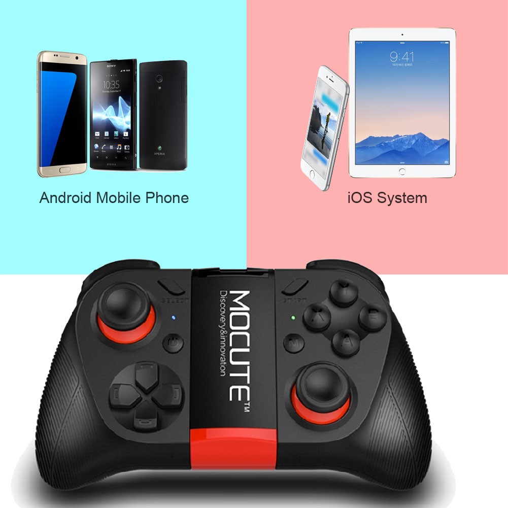 MOCUTE Wireless Gamepad player Bluetooth 3.0 Game Controller Handle Joystick for iPhone iOS Android smartphone For Gear VR PS3(China (Mainland))