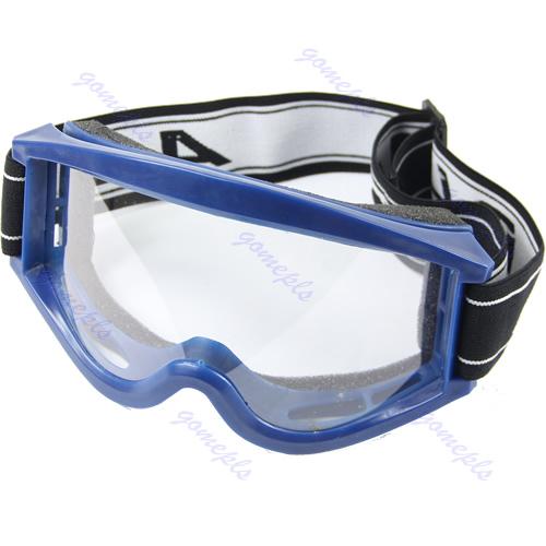 Blue Adult Youth Motorcycle Raider Motocross Dirt Bike ATV Goggle Goggles(China (Mainland))