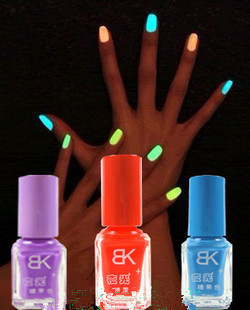 free shipping 10pcs/lot Nail art accessories nail art supplies toiletry kit luminous bk matt nail polish oil neon candy color(China (Mainland))