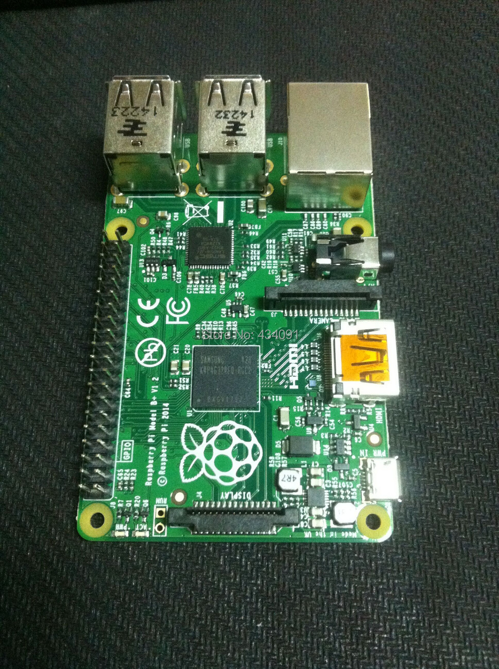New original Raspberry Pi Model B+ 512MB RAM MADE IN THE UK Micro computer main board/panel - Global electronic accessories co., LTD store