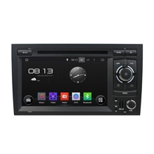 HD 1024*600 Quad Core 1.6G 16GB Android 5.1.1 Car DVD Player Radio GPS Navi Stereo for Audi A4 S4 RS4 2002 2003 2004 2005-2008