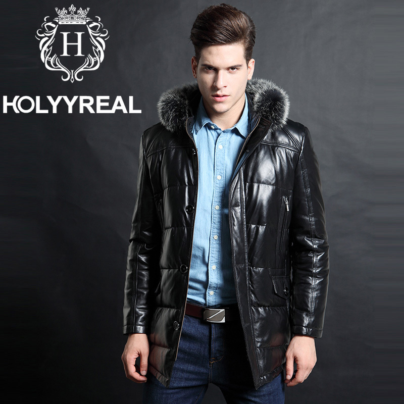 2013 new arrivals mens genuine sheepskin leather jackets