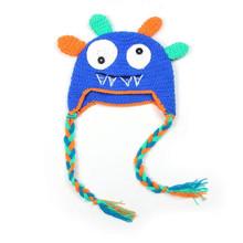2015 Hot Sale Newborn Owl Baby Girl Boy Infant Knit Crochet Clothes Parrot Knit Beanie Toddler Cap Handmade Warm Cotton Hat(China (Mainland))