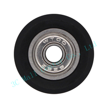 5pcs 3D printer acs W type double W type V slot V Plastic wheel with Bearings passive wheel Openbuilds pulley 20 profile track