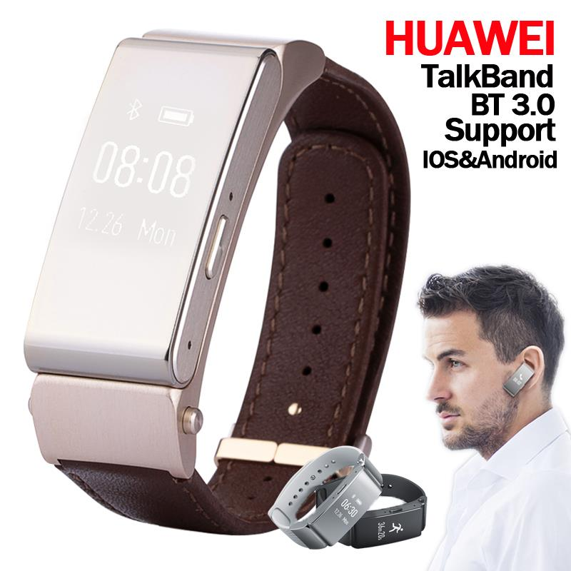 Original Smart Bracelet Huawei Talk band B2 Watch Band 22mm Bluetooth Wristband Wearable Devices Fitness Tracker for IOS Android<br><br>Aliexpress